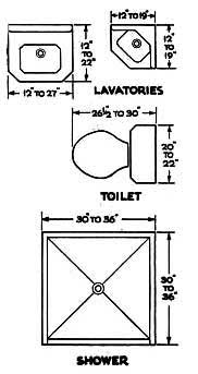 Small bathroom floor plans pictures for Ensuite planning tool