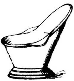 Vintage Bathtub Drawing