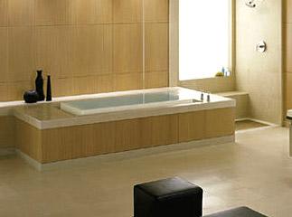 Vintage Bathroom Soaking Tub. A Large White Porcelain Soaking Tub Is  Recreated By Kohler In The Bathroom Fixture Shown Below.