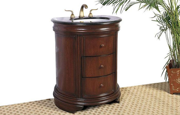 The Legs Arenu0027t The Only Place To Incorporate A Little Curve To A Bathroom  Vanity. Again Using French Antiques As An Inspiration, Simplified Bombe  Chests ...