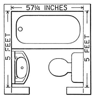 Sensational 5 X 5 Bathroom Floor Plan Victoriana Magazine Bathroom Design Largest Home Design Picture Inspirations Pitcheantrous
