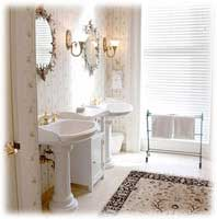 Vintage bathrooms a timeless style vintage bathroom lighting aloadofball Image collections