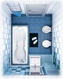 Modern Bathrooms And Small Bathroom Designs