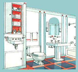 7 places to add an extra bathroom victoriana magazine for Average cost to add a bathroom