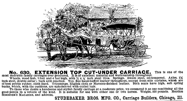 Studebaker carriage
