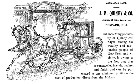 Quinby horse carriage 