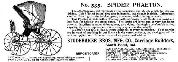 Studebaker Spider Phaeton
