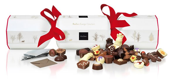 chocolate lovers christmas crackers