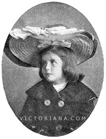 Girls Edwardian Hat