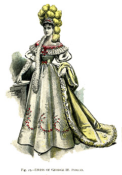 Dress of George III Period
