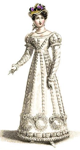 1821 Regency Dress