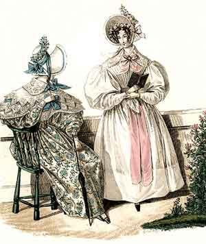 1830 dresses