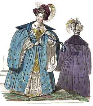 1830 dress