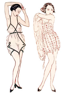 1920s Lingerie And Underwear