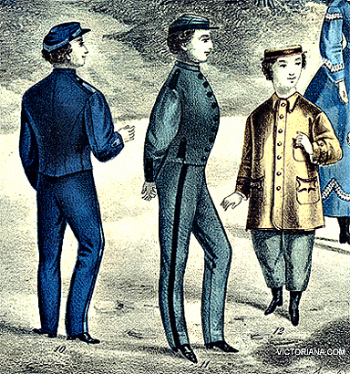 ba47456a39a2 Boy s 1860s Victorian Clothing