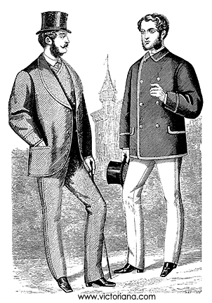 Men's Victorian Clothing