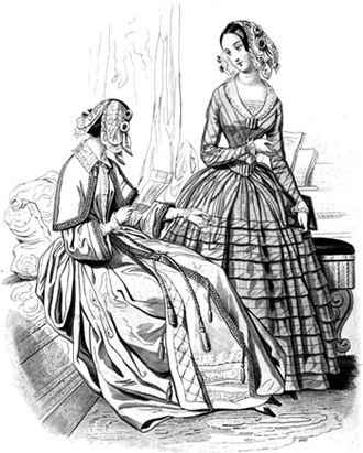 Victorian Lingerie | Dressing Gowns or Robes de Chambre