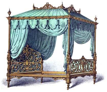 Antique Bed Antique Bedroom Furniture