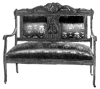 Victorian Sofa Antique Victorian Settee