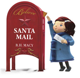 Yes virginia believe campaign macys stores across the country are featuring letter writing believe stations and santa mail letterboxes for believers of all ages to write and drop off spiritdancerdesigns Gallery