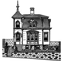 Victorian house plans for French mansard house plans