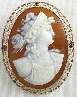 Antique cameo jewelry gold mounted filigree victorian sardonyx shell aloadofball Choice Image