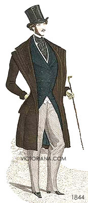 Mens clothing 1843 victorian mens clothing 1844 victorian mens