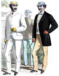 Fashion History  Mens Clothing 1830s  Victoriana Magazine