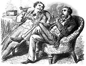 Victorian Smoking Jackets And Chamber Garments