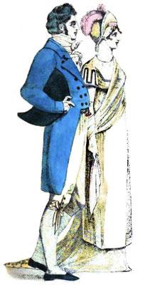 Gentlemen's Fashions from 1807