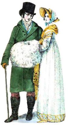 Gentlemen S Fashions From 1807