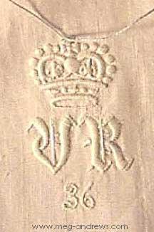 Queen Victoria cypher