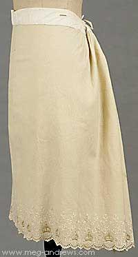 Queen Victoria petticoat