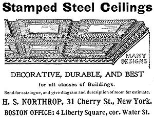 Vintage Tin Ceiling