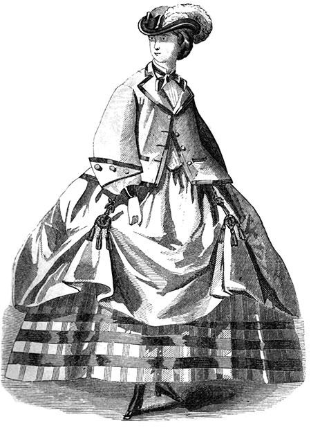 Balmoral hoop skirt