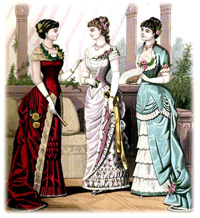 Victorian Dresses From The 1880s