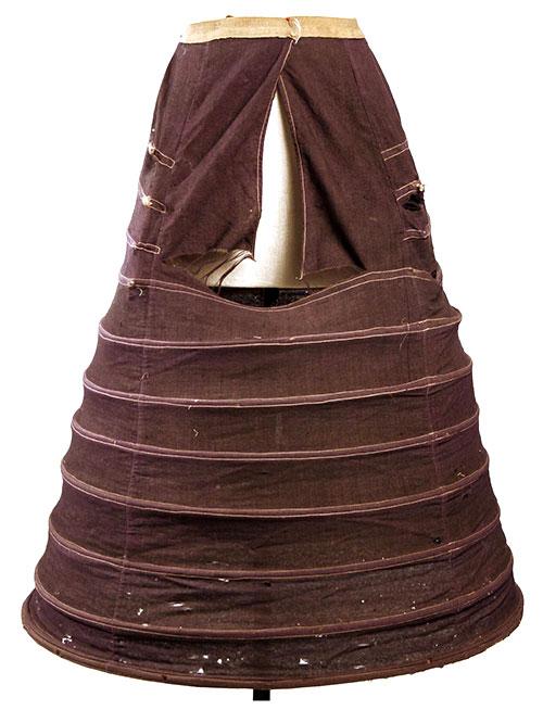 19th century hoop skirt