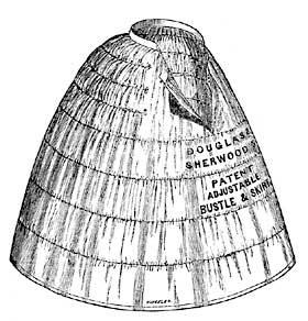 MID-19th CENTURY CRINOLINE