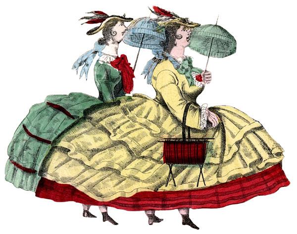 Crinoline - Victorian clothing
