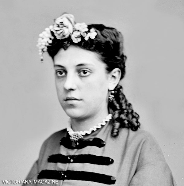 Fantastic Victorian Hairstyles Headdresses And Hairstyles From The 1860S Short Hairstyles For Black Women Fulllsitofus