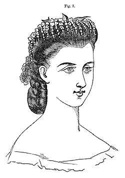 Super Victorian Hairstyles Headdresses And Hairstyles From The 1860S Short Hairstyles Gunalazisus