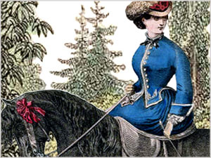 VICTORIAN RIDING CLOTHES