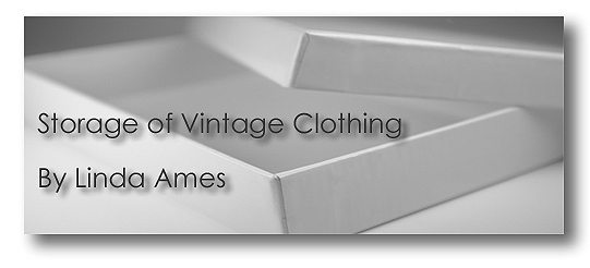 Storage of Vintage Clothing