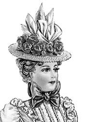 1 -Straw Braid and Shirred Hats