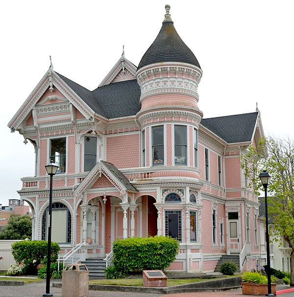 Victorian pink lady for New victorian homes