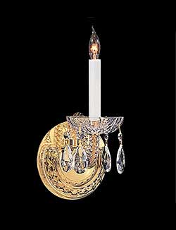 Victorian bathroom lighting victorian sconces a wall sconce in crystoramas traditions collection will add sophistication to your victorian bathroom lighting design just add a glass shade to recreate aloadofball Gallery
