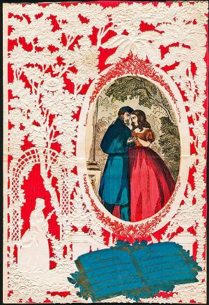 Valentines Antique Valentines History Of Valentines
