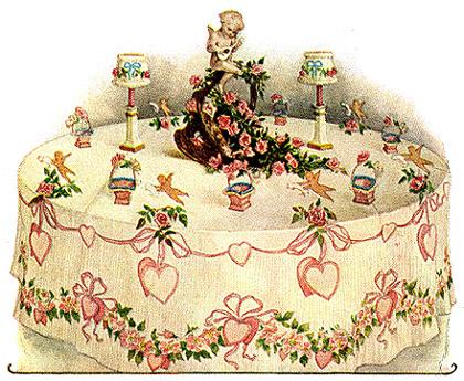 Victorian Valentine's Day Party