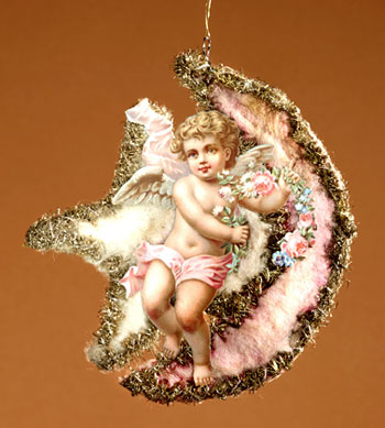 Victorian Christmas Angel Ornament