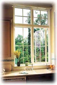Vintage casement windows